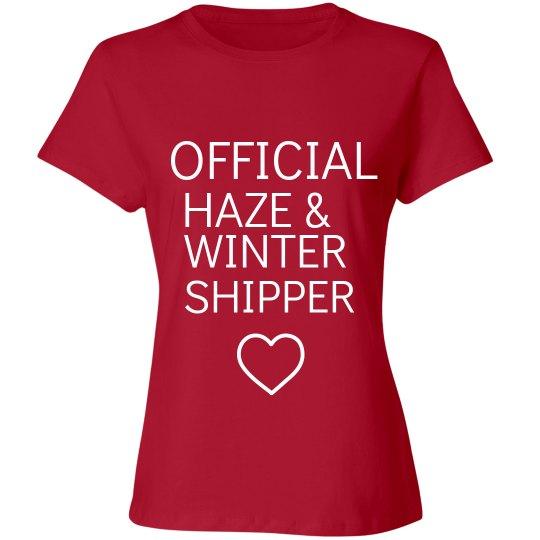 HAZE AND WINTER SHIPPER red T-shirt