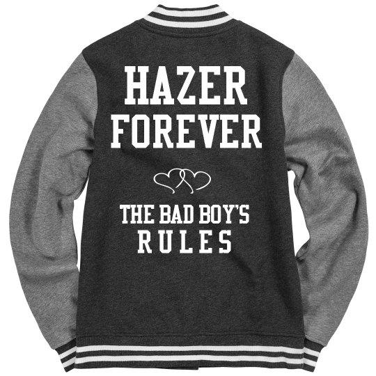 HAZER FOREVER pink jacket