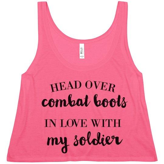 Head Over Combat Boots In Love