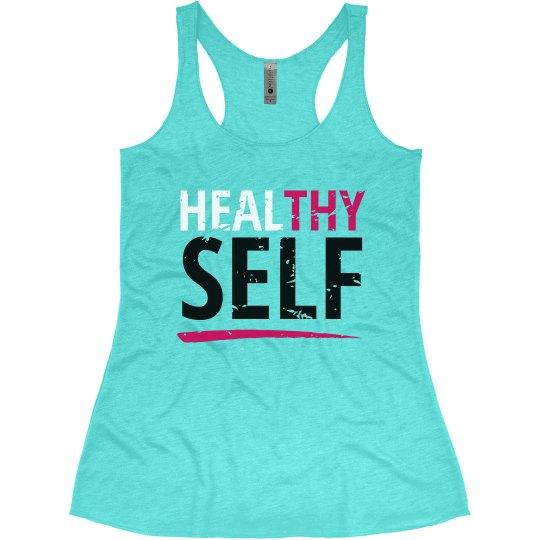 Healthy/Heal Thy Self - Blue