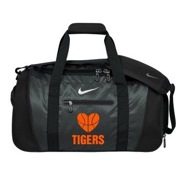 Heart Basketball Bag