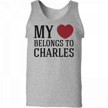 Heart belongs to Charles