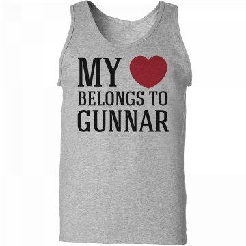 Heart belongs to Gunnar