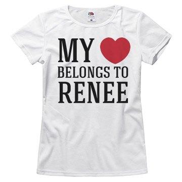 Heart belongs to Renee