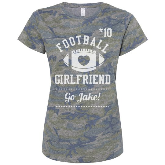 Heart Football Girlfriend