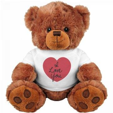 Heart Love Bear