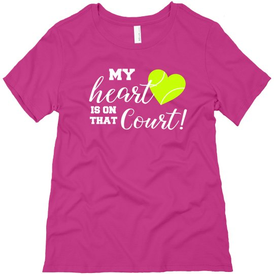Heart on Court  PINK