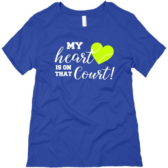 Heart on Court BLUE