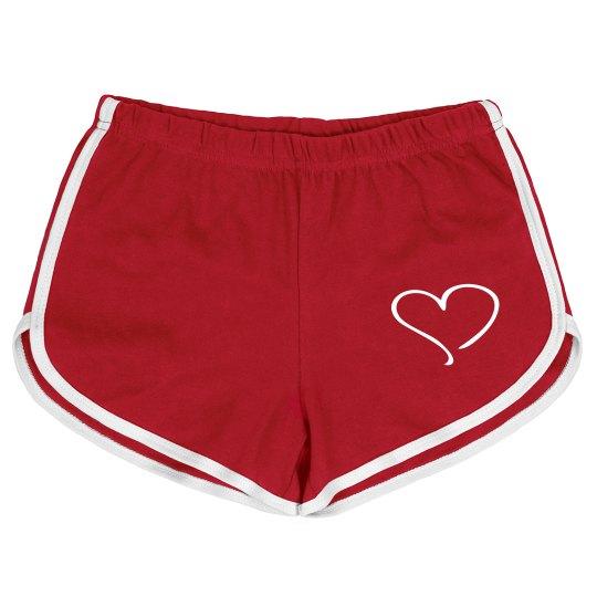 Heart Shorts