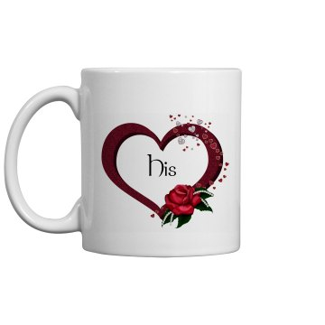 Hearts and Rose Mug