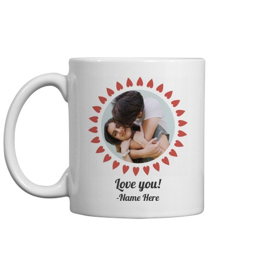 Hearts Fram Upload Mug