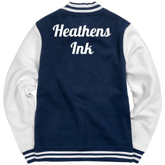 Heathens Ink letter jacket