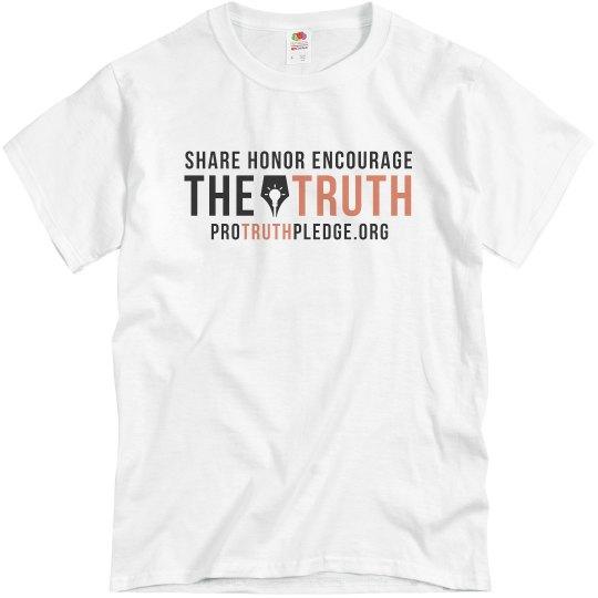 Heather Grey Pro Truth Pledge Shirt