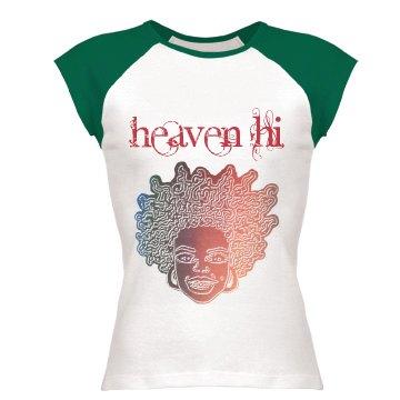 Heaven Hi 'Smile' Tee - red