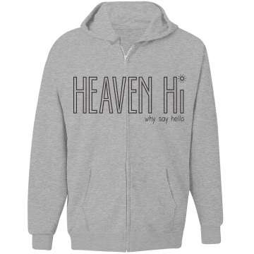 Heaven Hi zippered bright