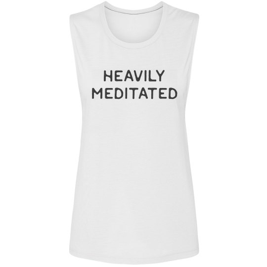 Heavily Meditated Yoga Muscle Tank