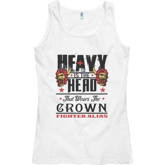 Heavy is The Head White Tank
