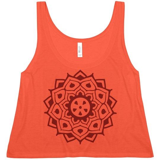 Henna Circle Design