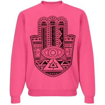 Henna Neon Sweatshirt