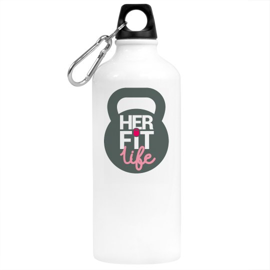 Her Fit Life 20oz. Water Bottle