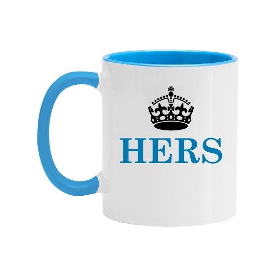 Hers Color Couple Matching Mug