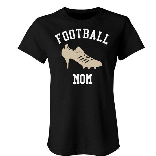 High Heel Football Mom