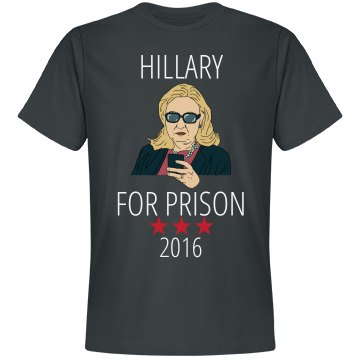 Hillary For Prison 2016