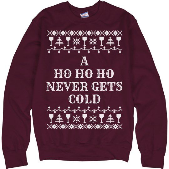 Ho Ho Funny Ugly Christmas Sweater