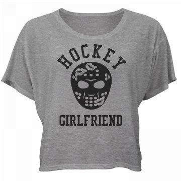 Hockey Girlfriend Kisses