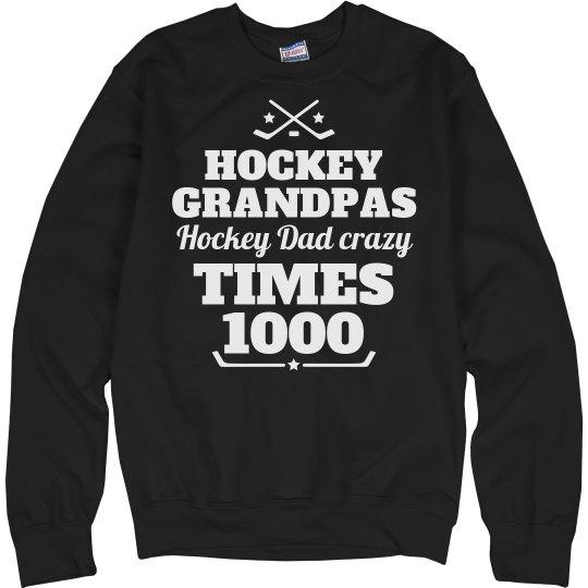 Hockey Grandpas and Hockey Dads