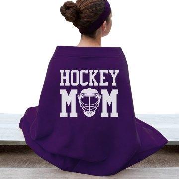 Hockey Mom Bleacher Blanket