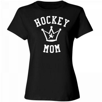 Hockey mom deserves a crown