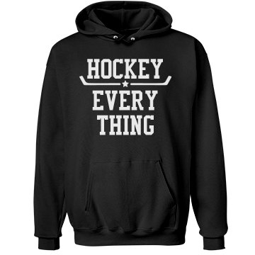 Hockey Over Everything Mom Dad