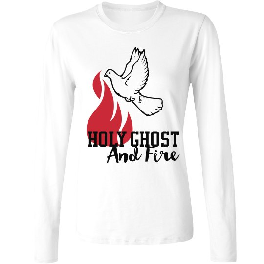 Holy Ghost and Fire sweater