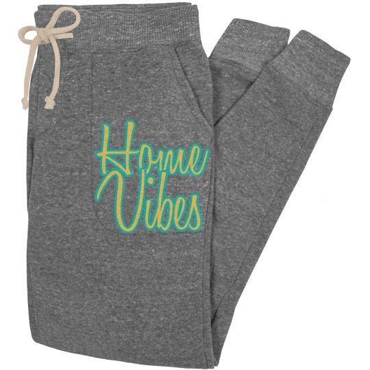 Home vibes joggers - gray