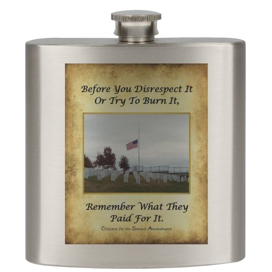 Honor the Flag - Flask