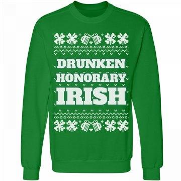 Honorary Irish Drunk