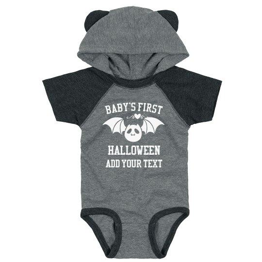 Hooded Custom Baby's First Halloween