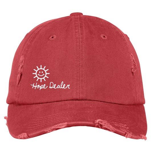 Hope Dealer Distressed Hat