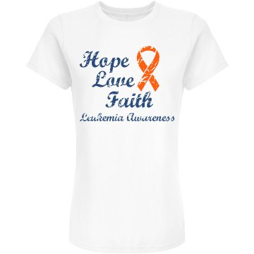 Hope Love Faith Leukemia
