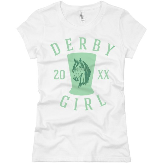 Horse Racing Derby Girl