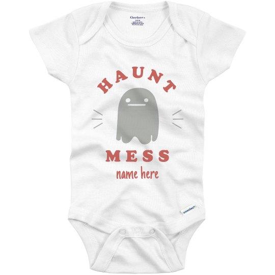 Hot Mess, Haunt Mess Halloween Baby