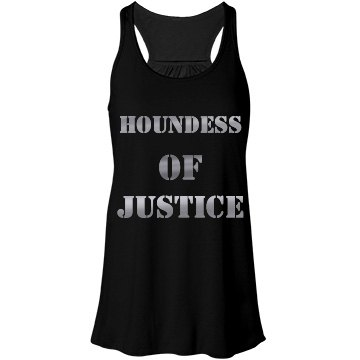 'Houndess of Justice' tank top