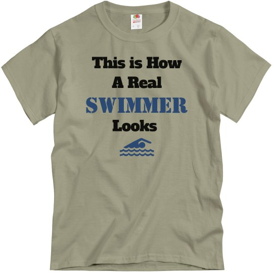 How a swimmer looks