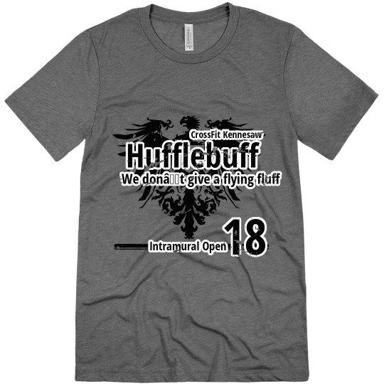 Hufflebuff T - grey