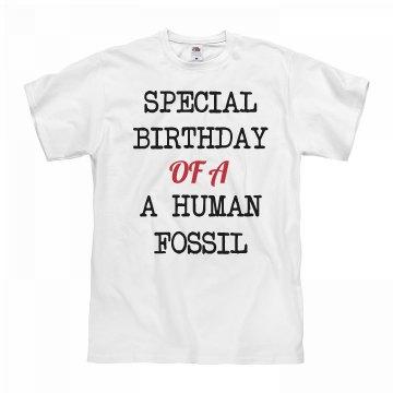 Human fossil birthday