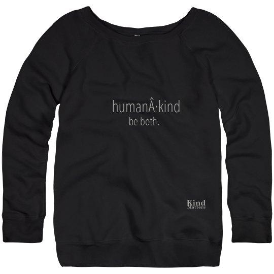 Human·Kind sweatshirt