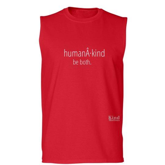 Human·Kind unisex/mens muscle tee