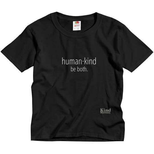 Human·Kind youth tee