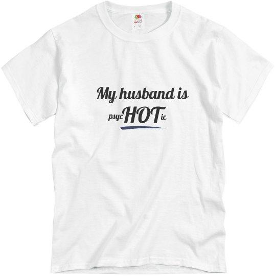 Husband is psycHOTic blue